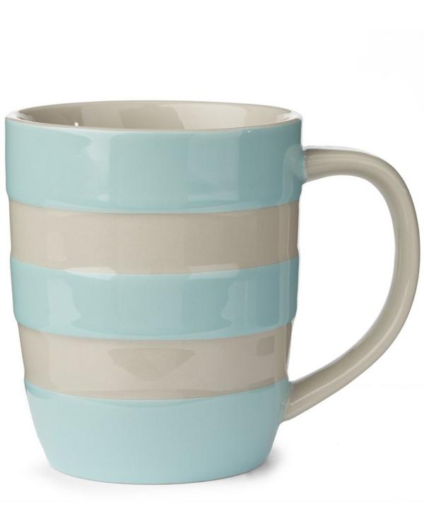 Stripe Girl's Stoneware Mug