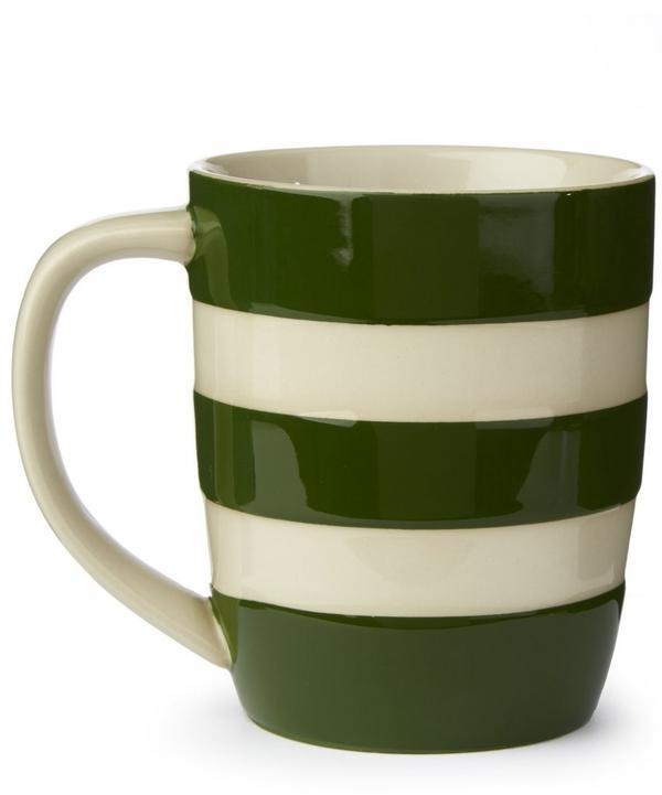 Adder Green Stoneware Mug