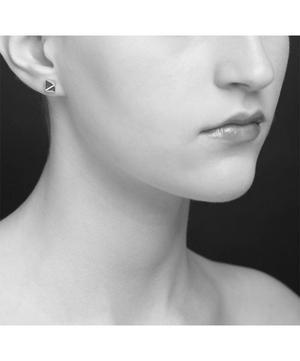 Gold-Plated Almaz Stud Earrings