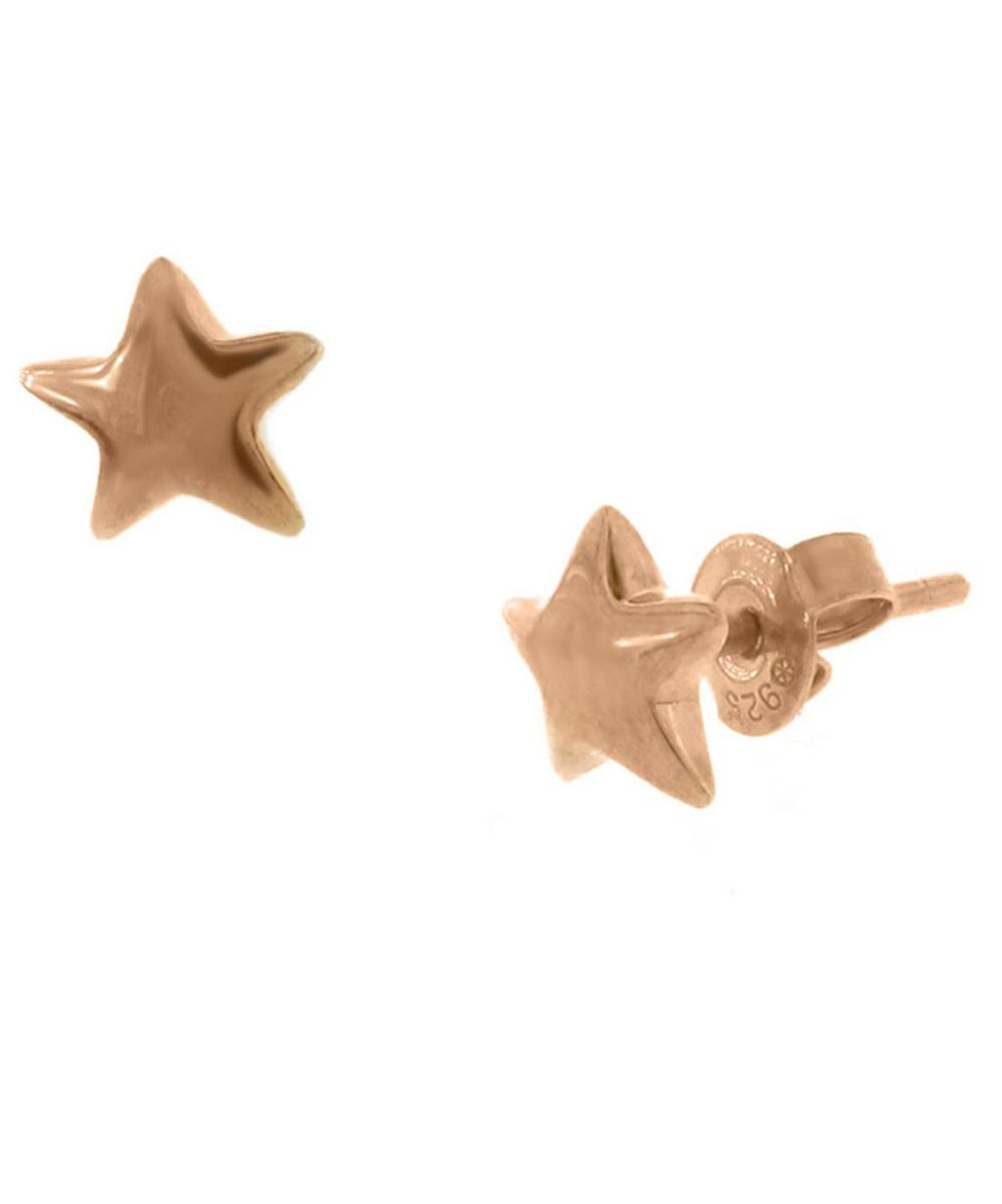 Gold-Plated Bijou Star Stud Earrings
