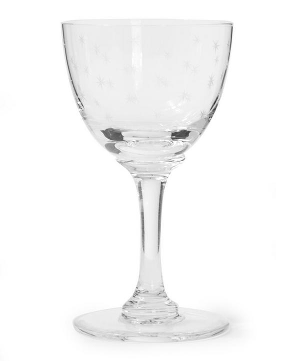 Set of 6 Stars Liquer Glasses