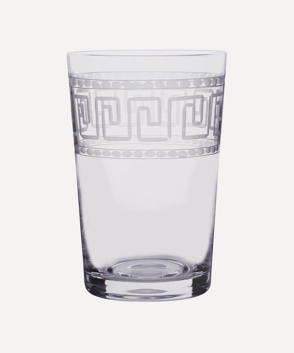 Set of 6 Greek Key Tumblers