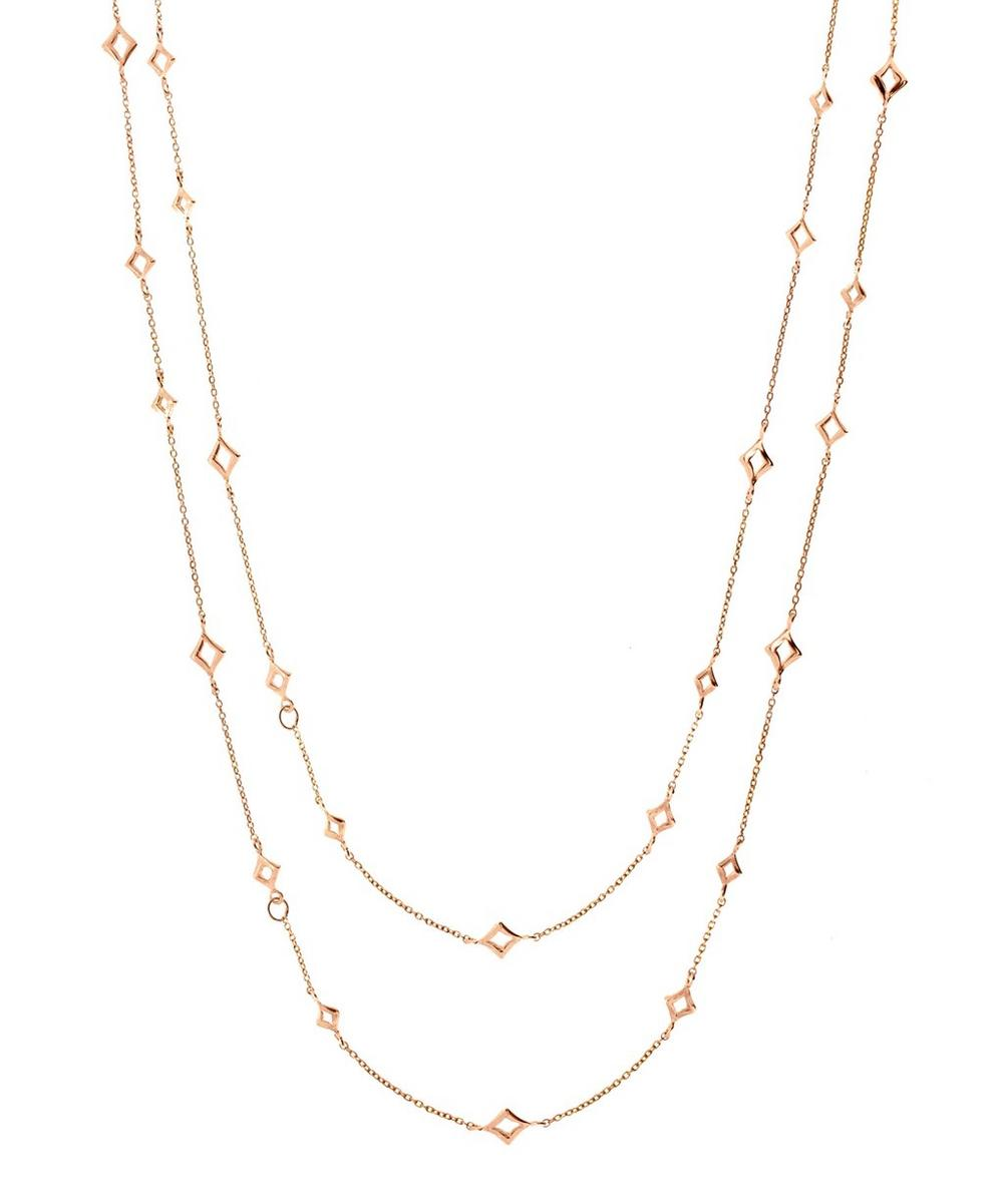 Rose Gold-Plated Almaz Necklace