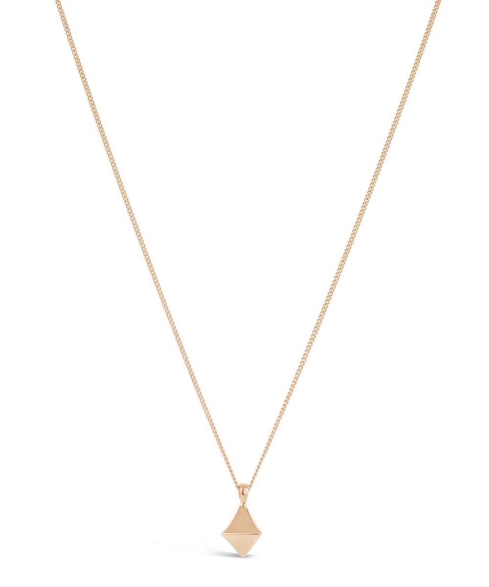 Rose Gold-Plated Almaz Pendant