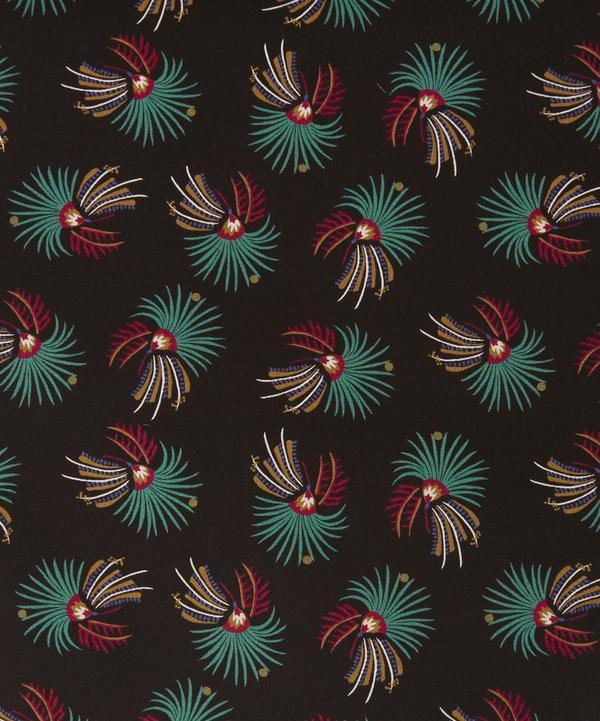Firework Floral Silk Crepe de Chine