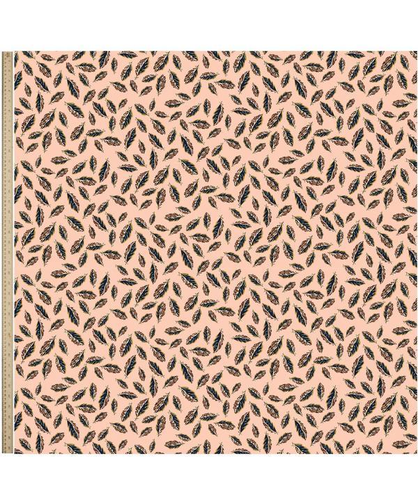 Woven Leaves Belgravia Silk Satin