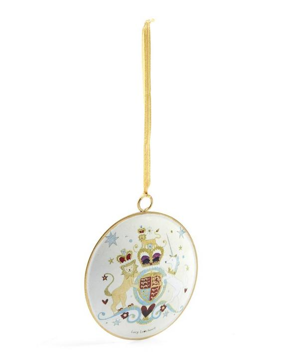 Lucy Loveheart Royal Coat of Arms Tree Decoration