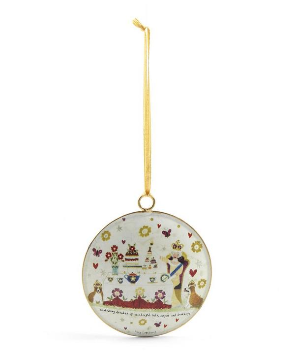Lucy Loveheart Royal Tea Party Tree Decoration