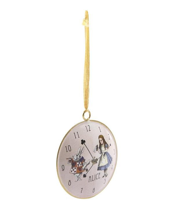 Tinker Tailor Alice in Wonderland Round Tree Decoration