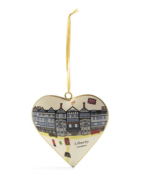 Liberty London Heart Tree Decoration
