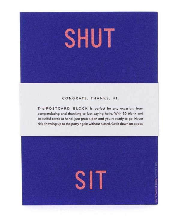 Shut Up and Sit Down Postcards