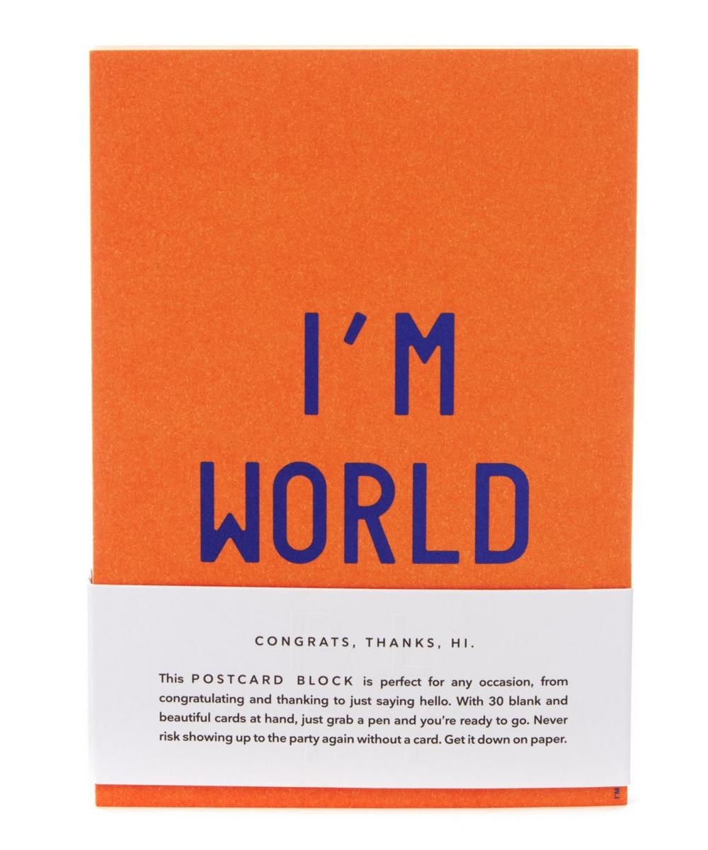I'm World Postcards
