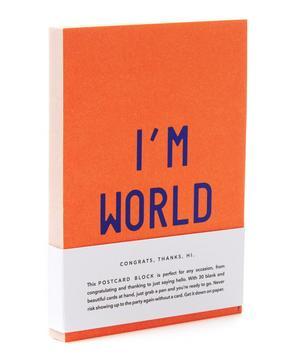 I'm World Postcards