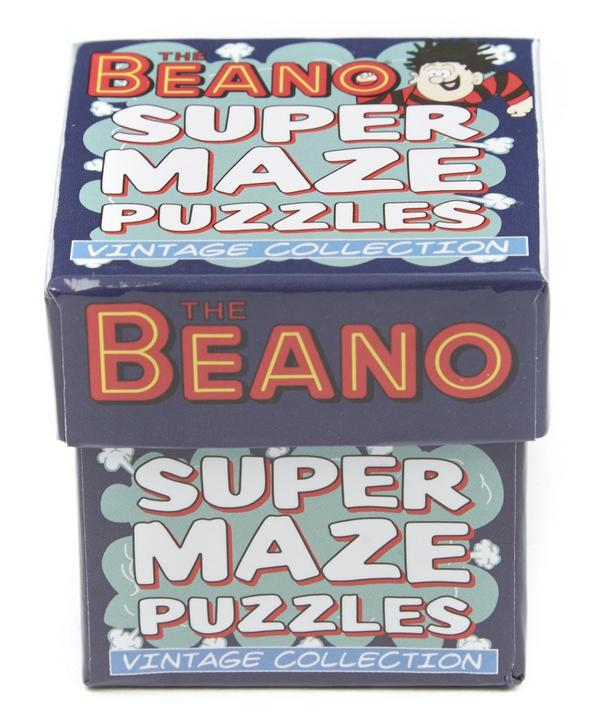 The Beano Super Maze Puzzles