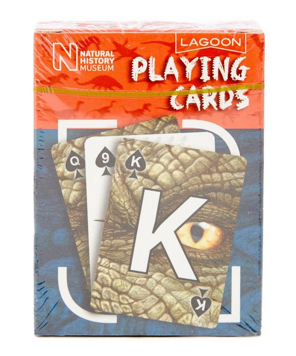 Natural History Museum Dinosaur Playing Cards