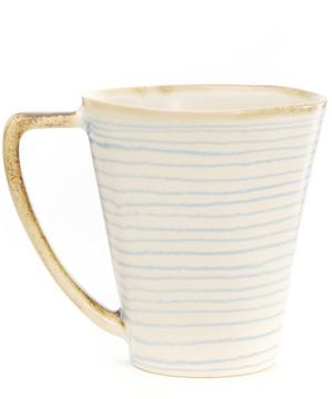 Stripe Stoneware Mug