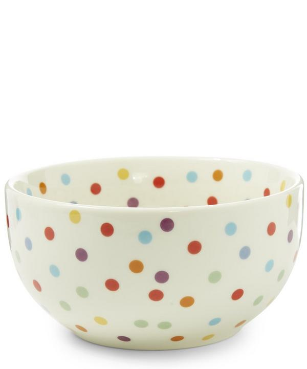 Polka Dot Cereal Bowl
