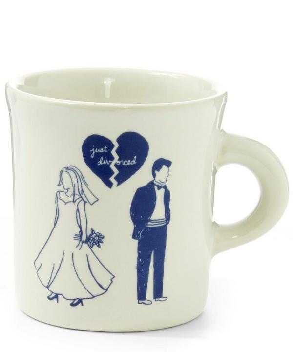 Just Divorced Woman and Man Mug