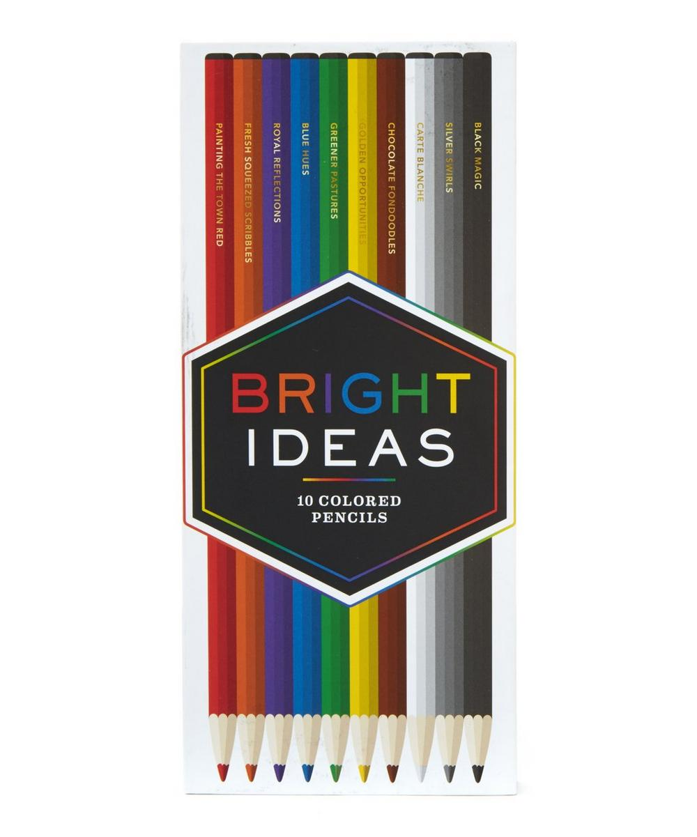 10 Coloured Pencils