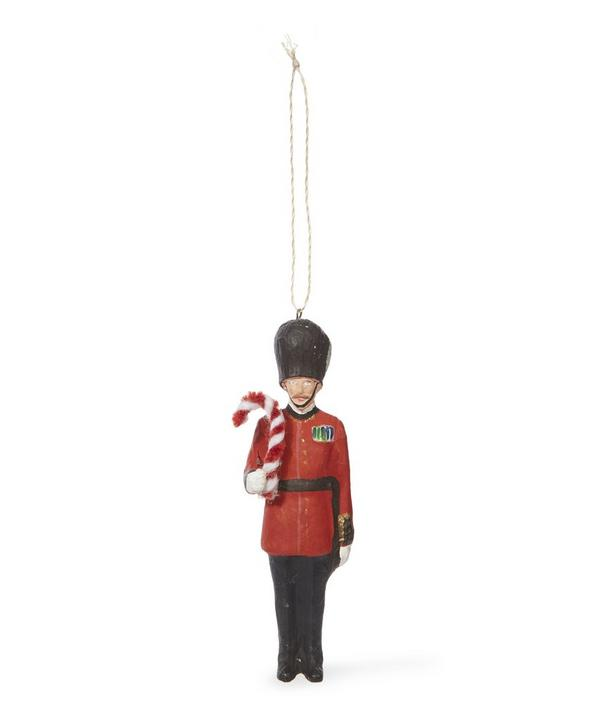 Royal Guard Candy Cane Decoration