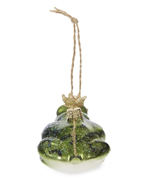 Crowned Frog Decoration