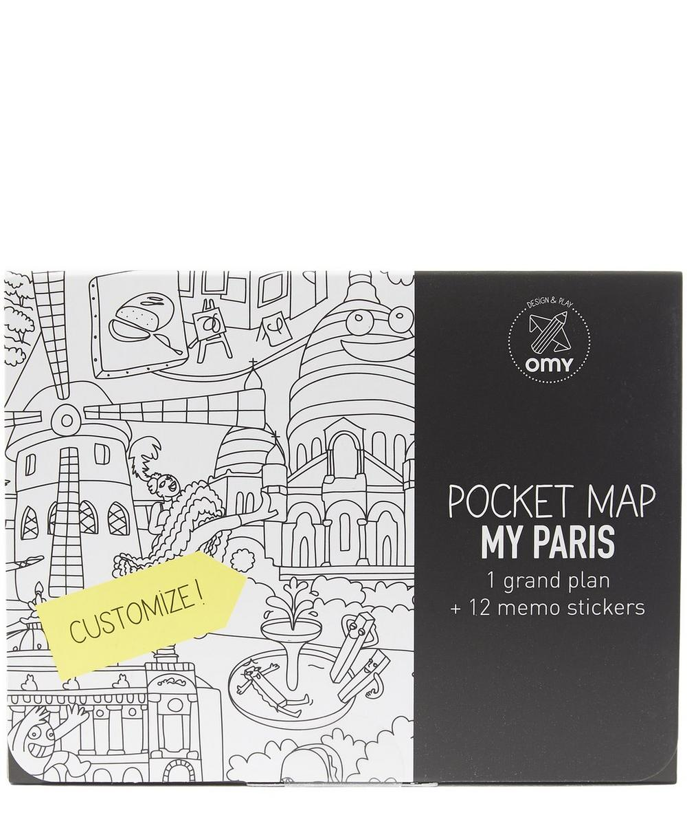 Paris Pocket Map