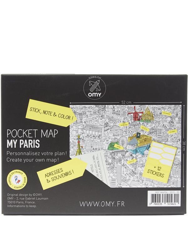 Paris Pocket Map
