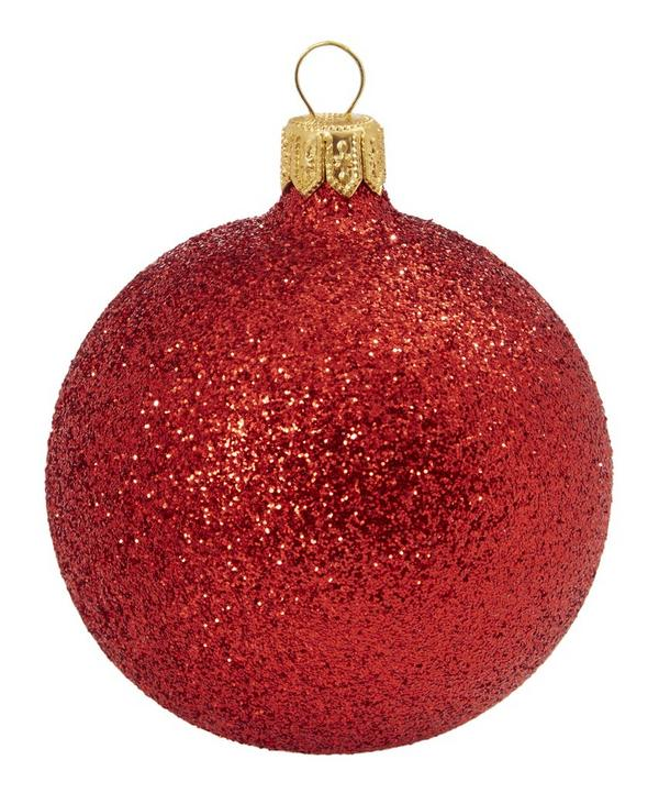 All-Over Glitter Bauble