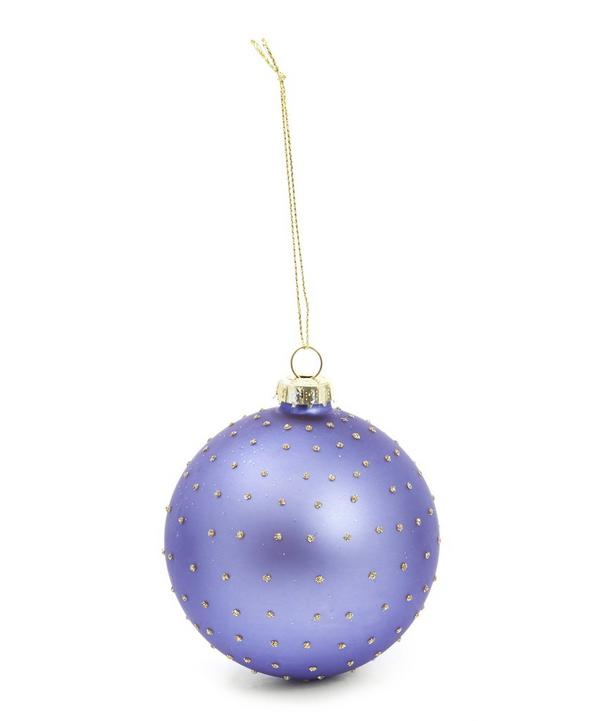 Matte Glass Bauble