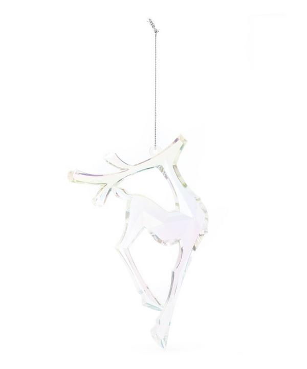 Rainbow Acrylic Deer Decoration