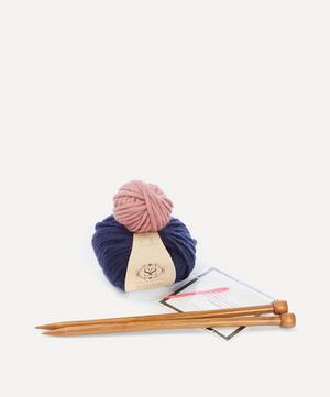 Luca Pom Pom Hat Knitting Kit