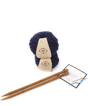 Cable Coo Hat Knitting Kit
