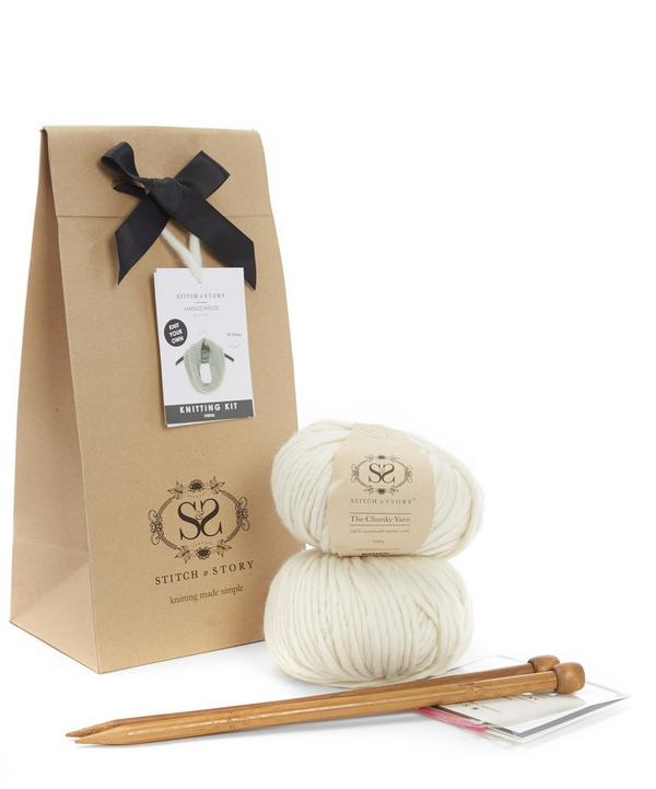 Mateuesz Snood Knitting Kit