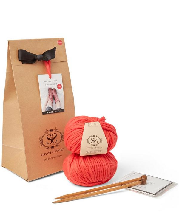Easy Slumber Socks Knitting Kit