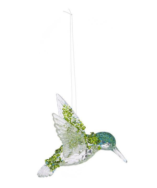 Sequinned Hummingbird Tree Decoration