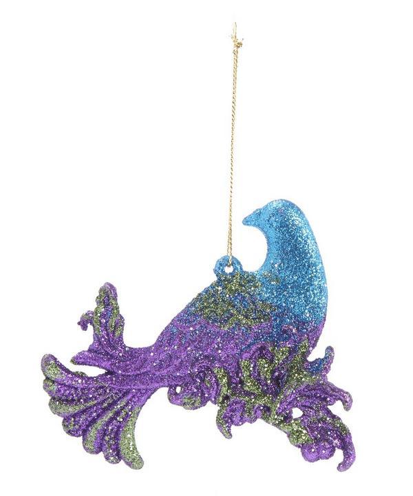 Glitter Dove Decoration