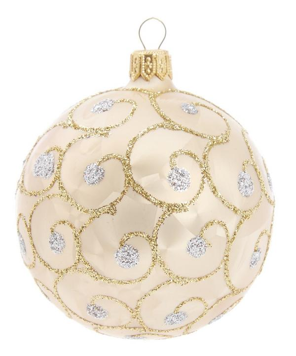 Glitter Embellished Tree Decoration
