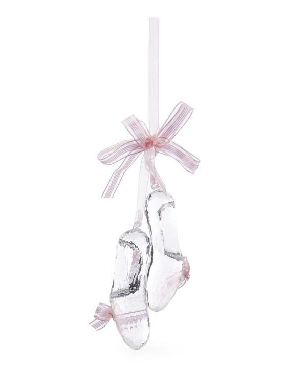 Ballet Shoe Hanging Tree Decoration