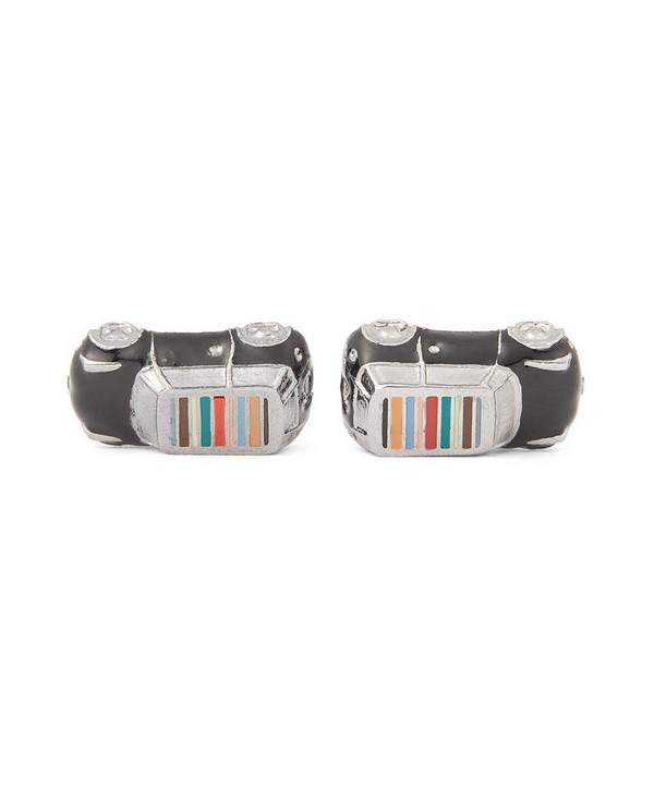 Enamel Car Cufflinks