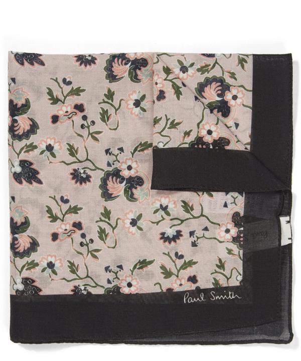 Logal Floral Pocket Square