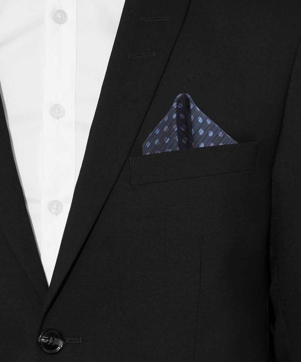 Stripe Polka Dot Pocket Square