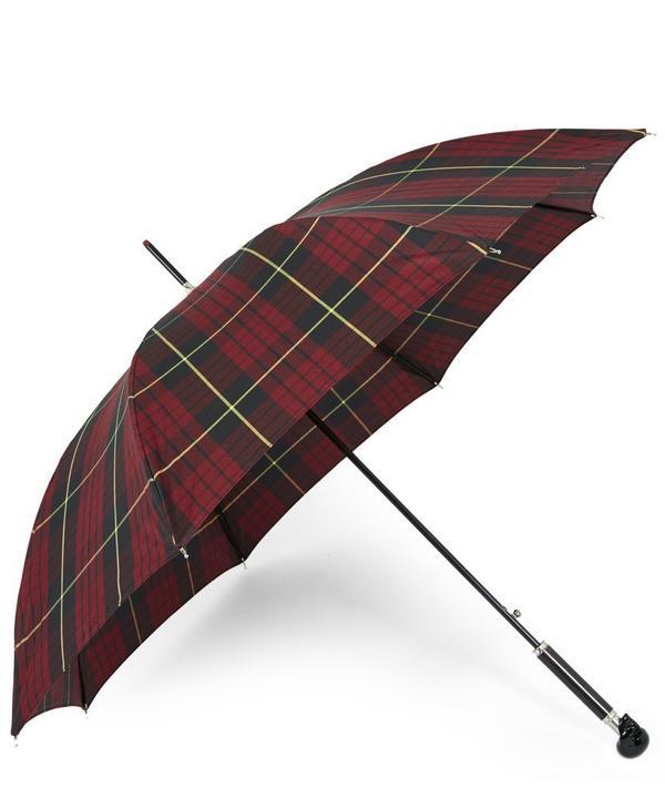 Tartan Skull Umbrella