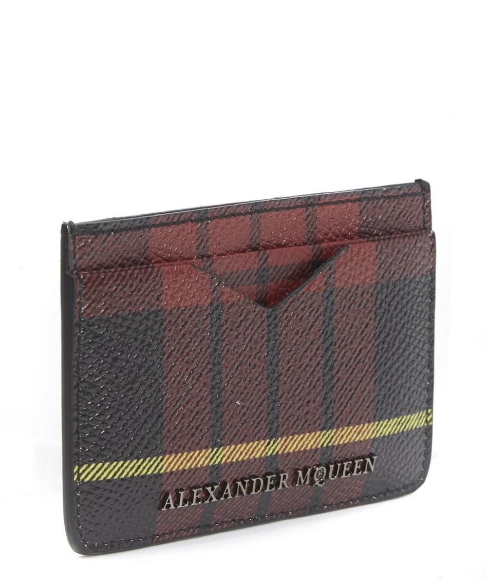 Tartan Card Holder