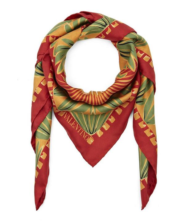 Enchanted Wonderland Silk Twill Foulard