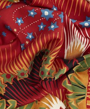 Enchanted Wonderland Silk Twill Foulard