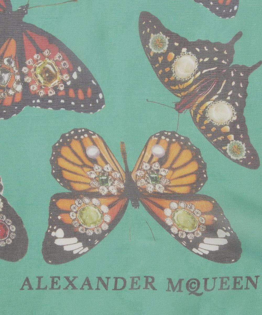 Bejewelled Butterfly Scarf