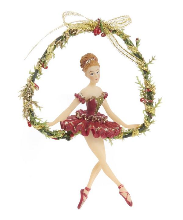 Nutcracker Ballerina Swing Decoration