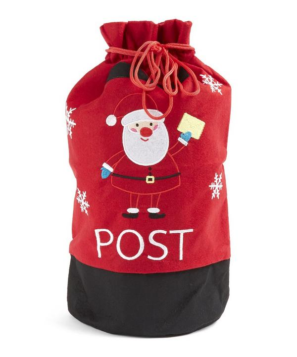 Santa Post Box Toy Sack
