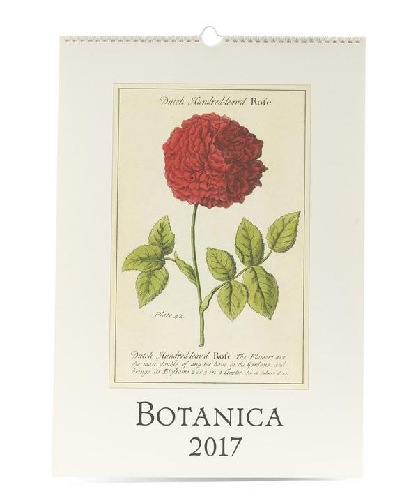 Botanica 2017 Wall Calendar