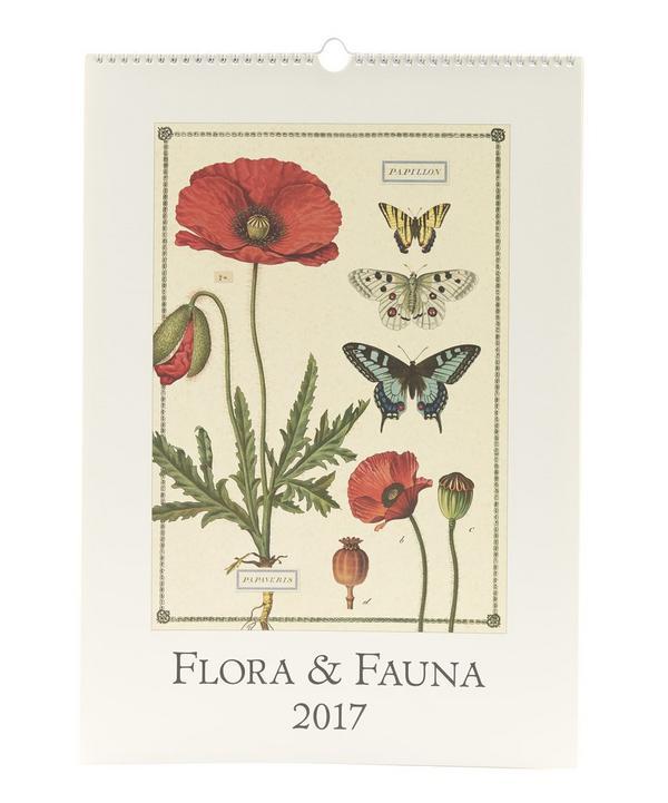 Flora and Fauna 2017 Wall Calendar
